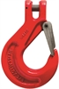 Grade 8 Clevis Sling Hooks c/w Heavy Duty Iron Catch
