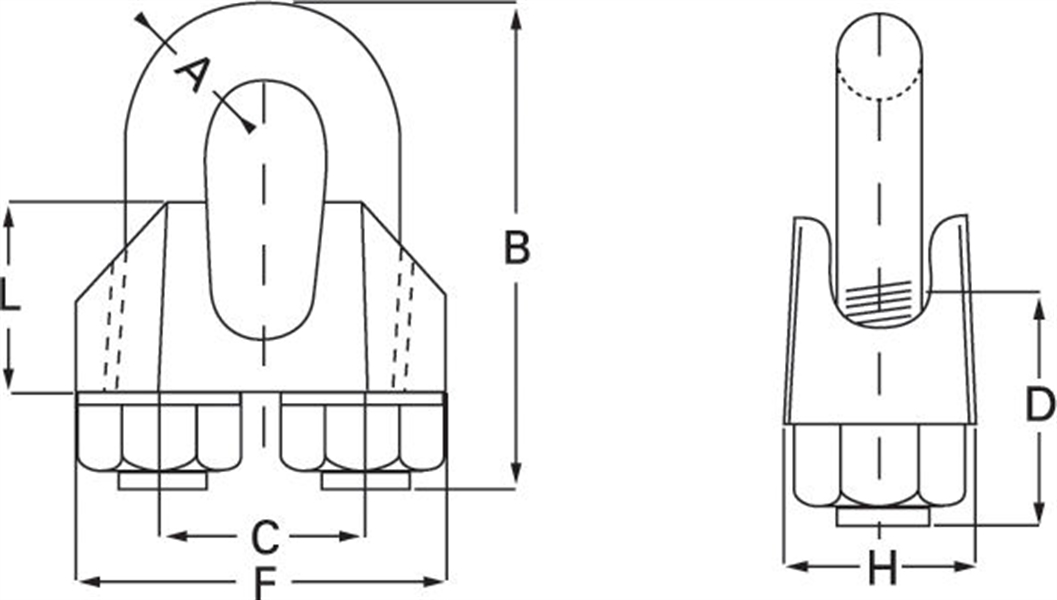 George Taylor & Company : Wire Rope Grips EN 13411 part 5