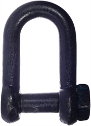 Danish Blue Painted High Tensile Square Head Dee Shackles