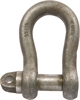 Large Bow Shackles c/w Type A Screw Collar Pin